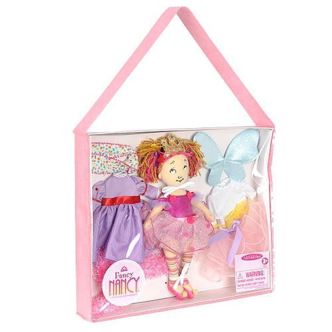 "Fancy Nancy Dress-Up Tote - 12"" (62385) - Peazz Toys"