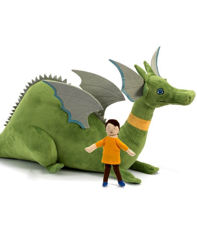 "Puff The Magic Dragon and Jackie Paiper - 16"" (64680) - Peazz Toys"