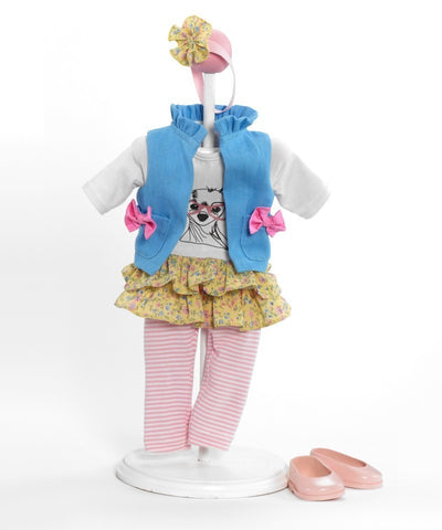"Girlz Best Friend Outfit - 18"" (64760) - Peazz Toys"