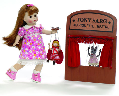 Wendy with Tony Sarg Marionettes - Limited Edition 500 pieces - 8 (66570) - Peazz Toys