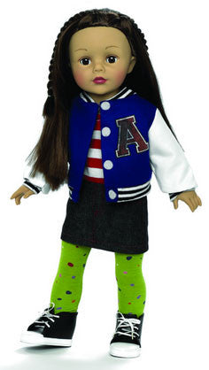 Varsity Girl - 18 (66960) - Peazz Toys