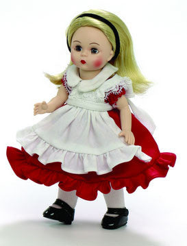 "Alice In Wonderland Red Dress - 8"" (66985) - Peazz Toys"
