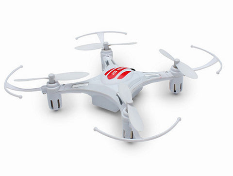 Merske MK10004 Eachine H8 Mini Headless Mode 2.4G 4CH 6 Axis Quadcopter RTF RC Helicopter - White - Peazz Toys
