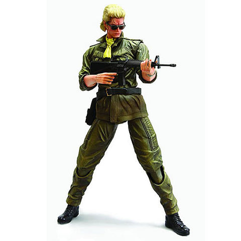 Square Enix DC810690 MGS Peace Walker Play Arts Kai Figure - Miller - Peazz Toys
