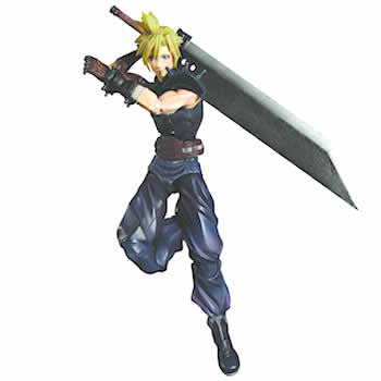 Square Enix DC810836 Final Fantasy Dissidia Play Arts Figure - Kai Cloud - Peazz Toys
