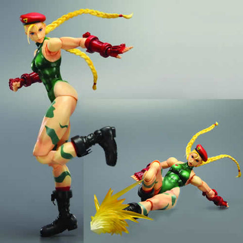 Square Enix DC811369 Street Fighter IV - Play Arts Kai Cammy Figure - Peazz Toys