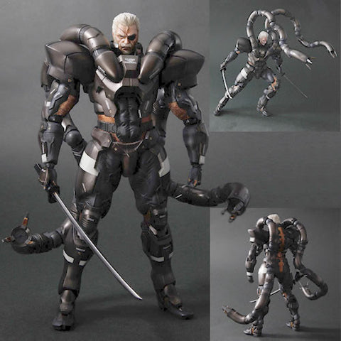 Square Enix DC811864 Metal Gear Solid 2 Play Arts Kai Figure - Solidus Snake - Peazz Toys