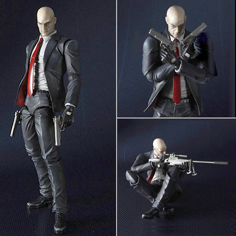 Square Enix DC812267 Hitman Absolution Play Arts Kai Figure - Agent 47 - Peazz Toys