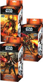 Wizards Of The Coast DC940948 Star Wars CMG Bounty Hunters Booster Pack - Peazz Toys