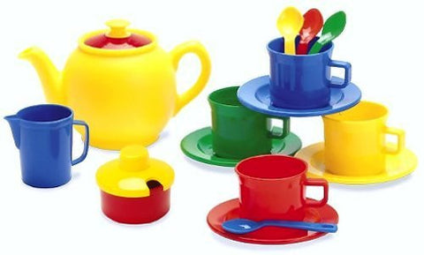 The Original Toy Company GA4382 DANTOY TEA TIME Tea Set 4382 - Peazz Toys