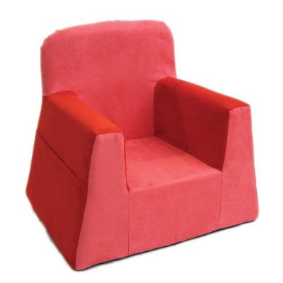 P'Kolino Little Reader Chair - Red - Peazz Toys