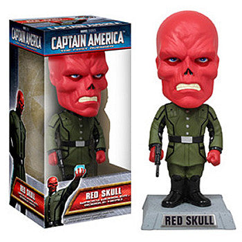 Funko FK022147 Captain America Movie Wacky Wobbler - Red Skull - Peazz Toys