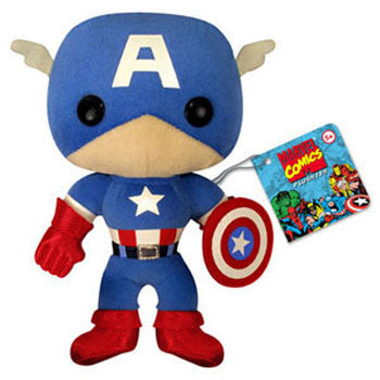 Funko FK2238 Marvel Plushies - Captain America - Peazz Toys