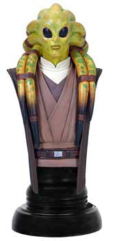 Gentle Giant Studios GG003631 Star Wars Mini Bust Classics - Kit Fisto - Peazz Toys