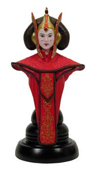 Gentle Giant Studios GG005154 Star Wars Mini Bust Classics - Queen Amidala - Peazz Toys