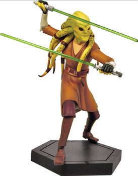 Gentle Giant Studios GG008070 Star Wars CW Maquette - Kit Fisto
