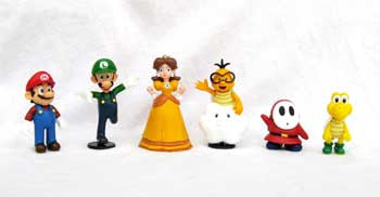 "Global Holdings GH306 Super Mario 2"" Vinyl Figures - Wave 2 - Peazz Toys"
