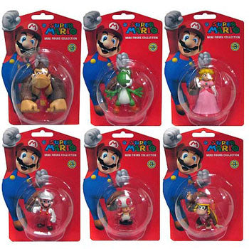 "Global Holdings GH313 Super Mario 2"" Vinyl Figures - Wave 3 - Peazz Toys"