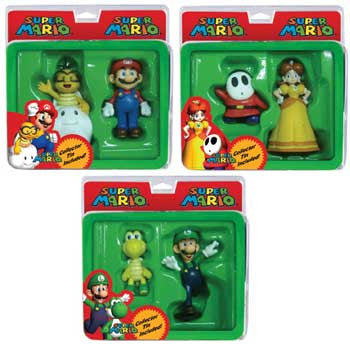 "Global Holdings GH332 Super Mario 2"" Figure 2-Pack w/ Collector Tin - Wave 2 - Peazz Toys"