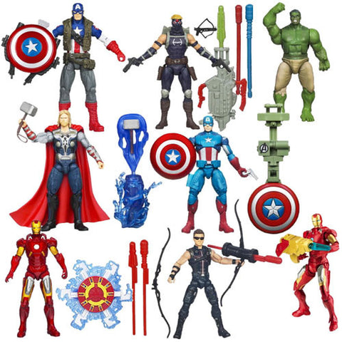"Hasbro Inc H36671000B Avengers The Movie - Earth's Mightiest Heroes 3.75"" Figures - 000B - Peazz Toys"