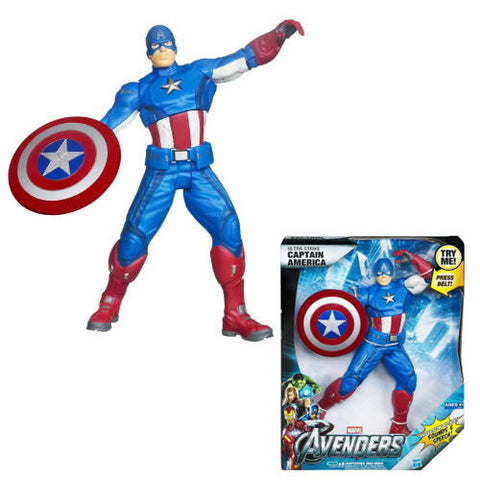 Hasbro Inc H374950000 Avengers The Movie - Ultimate Electronic Avenger Captain America - 0000 - Peazz Toys