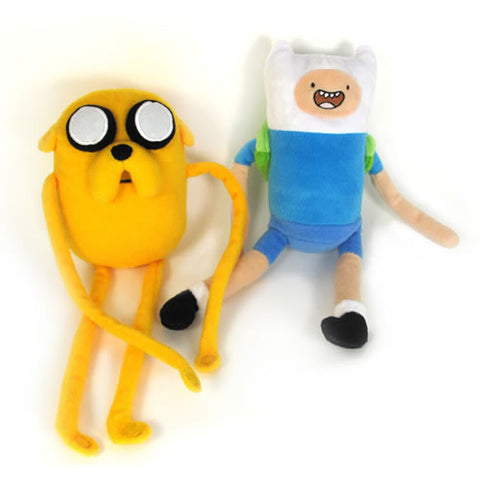 "Jazwares JW142201 Adventure Time - 7"" Finn and Jake Plush Set - Peazz Toys"