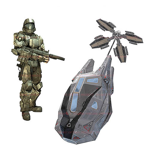 Mcfarlane Toys MF182897 Halo Universe Deluxe Vehicle - ODST Drop Pod - Peazz Toys