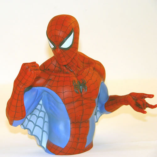 Monogram International, Inc. MG670008 Marvel Bank - Spiderman Bust