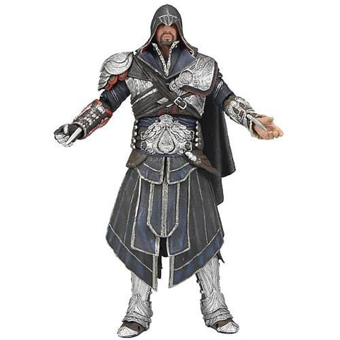 "Neca N608265 Assassin's Creed Brotherhood 7"" Figure - Ezio Onyx Costume - Peazz Toys"