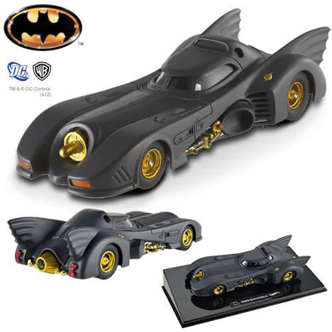 Mattel OTX5494 Hot Wheels Elite 1:43 Scale Diecast - Batman Movie (1989) Batmobile - Peazz Toys