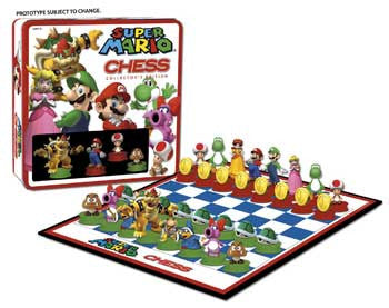 Usaopoly, Inc. UP004390 Chess - Super Mario Bros. - Peazz Toys