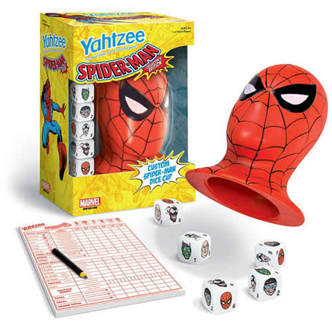 Usaopoly, Inc. UP044952 Yahtzee - Spiderman Collector's Edition - Peazz Toys