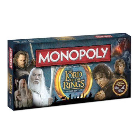 Usaopoly, Inc. UP045362 Monopoly - Lord Of The Rings - Peazz Toys