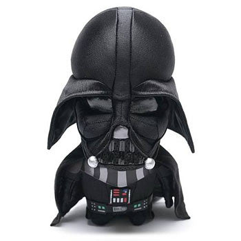 "Underground Toys UT002317 Star Wars 4"" Talking Clip-On Plush - Darth Vader - Peazz Toys"