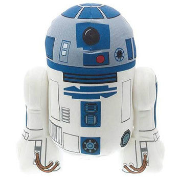 "Underground Toys UT002393 Star Wars 9"" Talking Plush - R2-D2 - Peazz Toys"