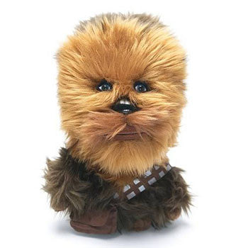 "Underground Toys UT002614 Star Wars 4"" Talking Clip-On Plush - Chewbacca - Peazz Toys"