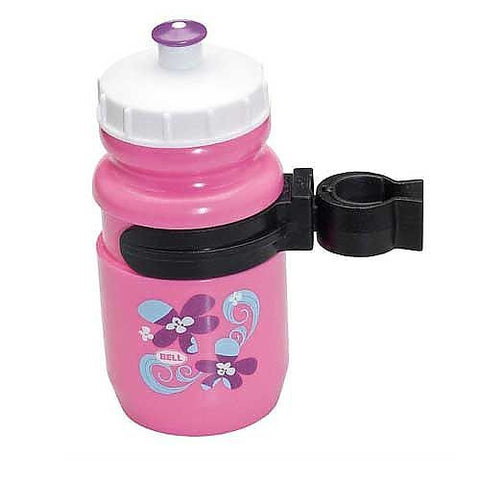 Bell Clip-On Waterbottle - Pink - Peazz Toys