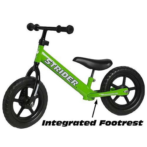 Strider Balance Bike - Color Green - Peazz Toys