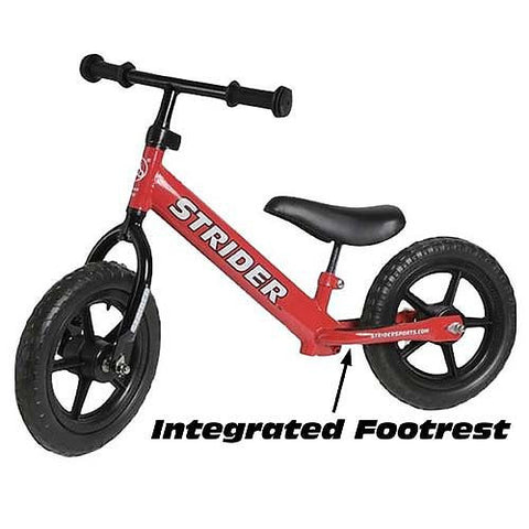 Strider Balance Bike - Color Red - Peazz Toys