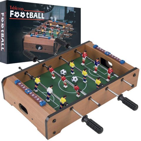 Trademark Commerce 15-3150 Gamest Mini Table Top Foosball W/ Accessories - Peazz Toys