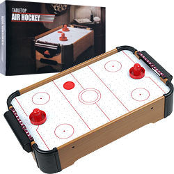 Trademark Commerce 15-3151 Gamest Mini Table Top Air Hockey W/ Accessories - Peazz Toys