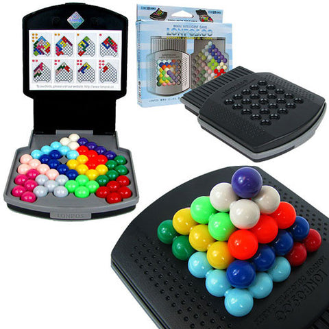 LONPOS Colorful Cabin 066 - Brain Intelligence Game - Peazz Toys