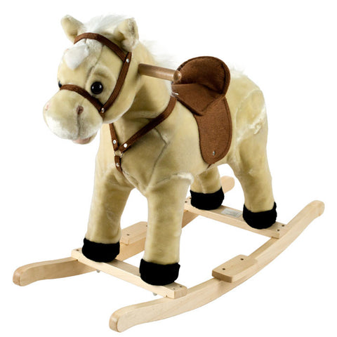 Trademark Commerce 80-1006 Happy Trails  Rocking Lil Henry The Horse - Peazz Toys