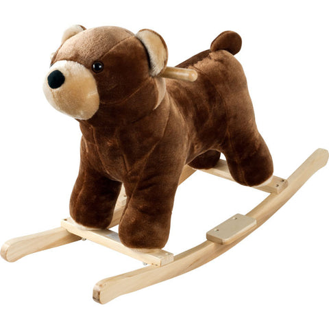 Trademark Commerce 80-135BEAR Happy Trails Plush Rocking Barry Bear With Sounds - Peazz Toys