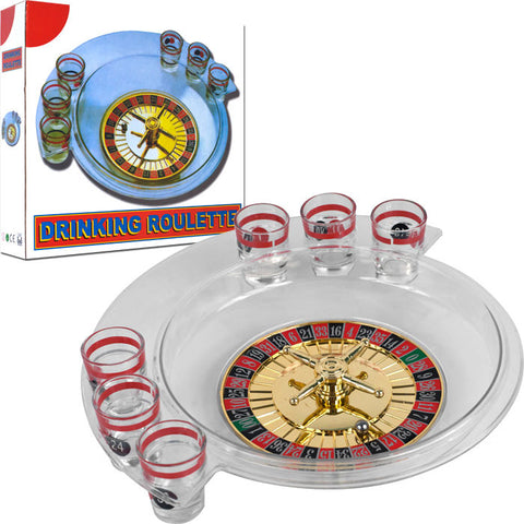 Trademark Commerce 80-802D The Spins Roulette Drinking Game By Tgt - Peazz Toys