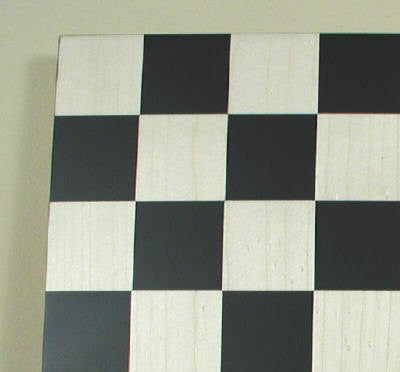 "14"" Black/Maple Chess Board, 1 3/4"" Square - Peazz Toys"