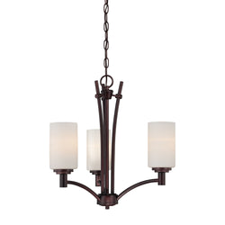 Thomas Lighting 190040719 Pittman Collection Sienna Bronze Finish Transitional Chandelier