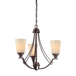 Thomas Lighting 190109704 Wright Collection Espresso Finish Traditional Chandelier