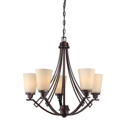Thomas Lighting 190110704 Wright Collection Espresso Finish Traditional Chandelier