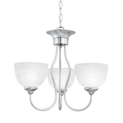 Thomas Lighting SL801478 Tahoe Collection Brushed Nickel Finish Traditional Chandelier
